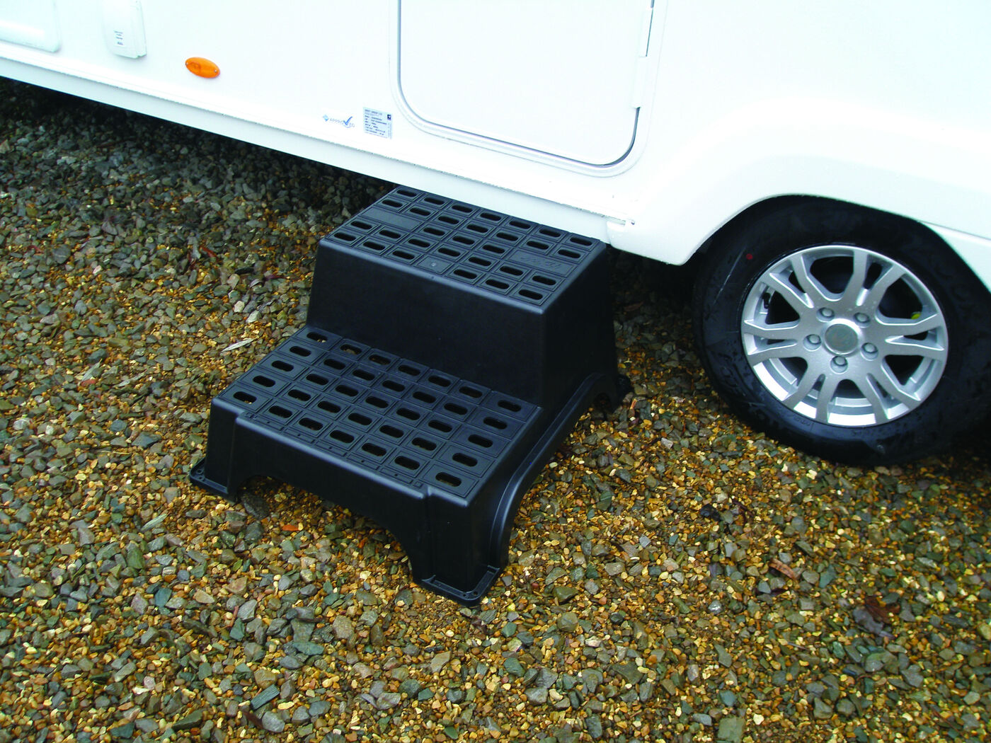 Milenco MGI Double Plastic Caravan Motorhome Step