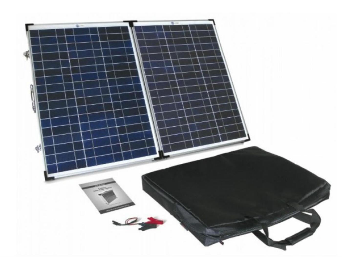 Pv Logic Foldup Solar Panel 90watt Homestead Caravans