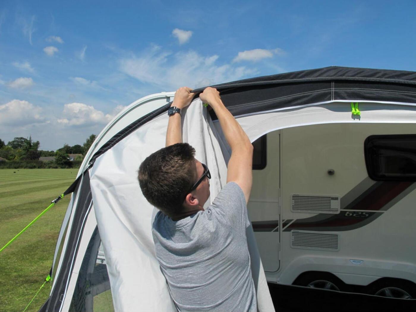 Kampa Fiesta Air Pro Canopy 2015 Homestead Caravans