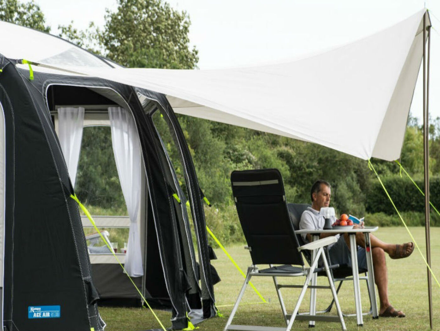 Accessory Shop Kampa Ace Air Sun Wing 183 Homestead Caravans