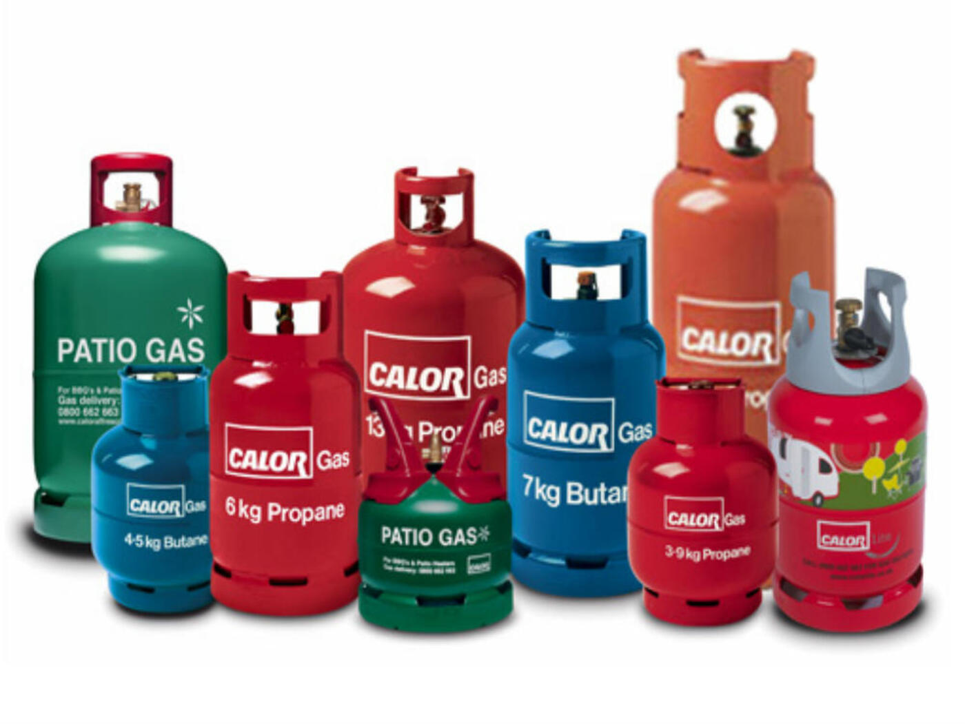 Calor Gas Cylinders Refills
