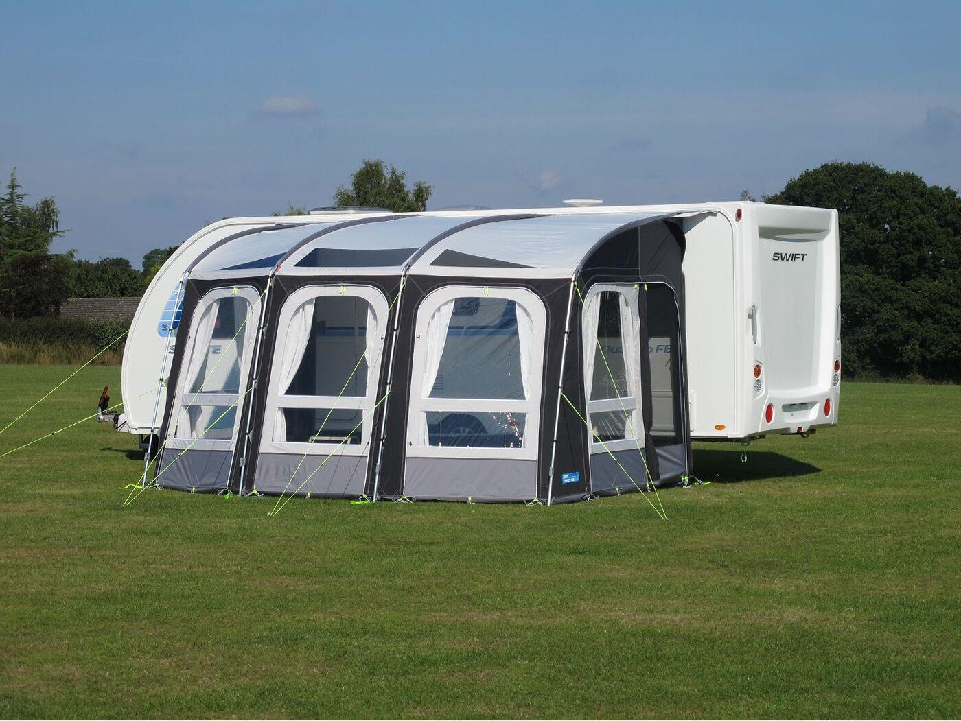 Kampa Rally Ace 400 Awning - Homestead Caravans