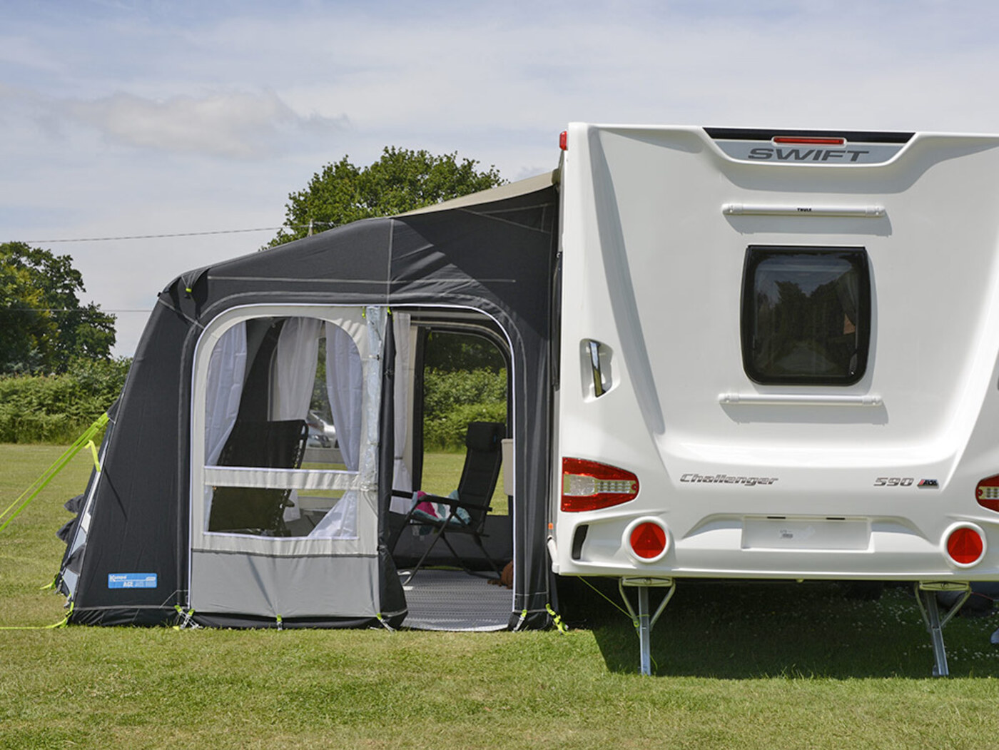 Kampa Ace Air Pro 300 Caravan Awning Homestead Caravans