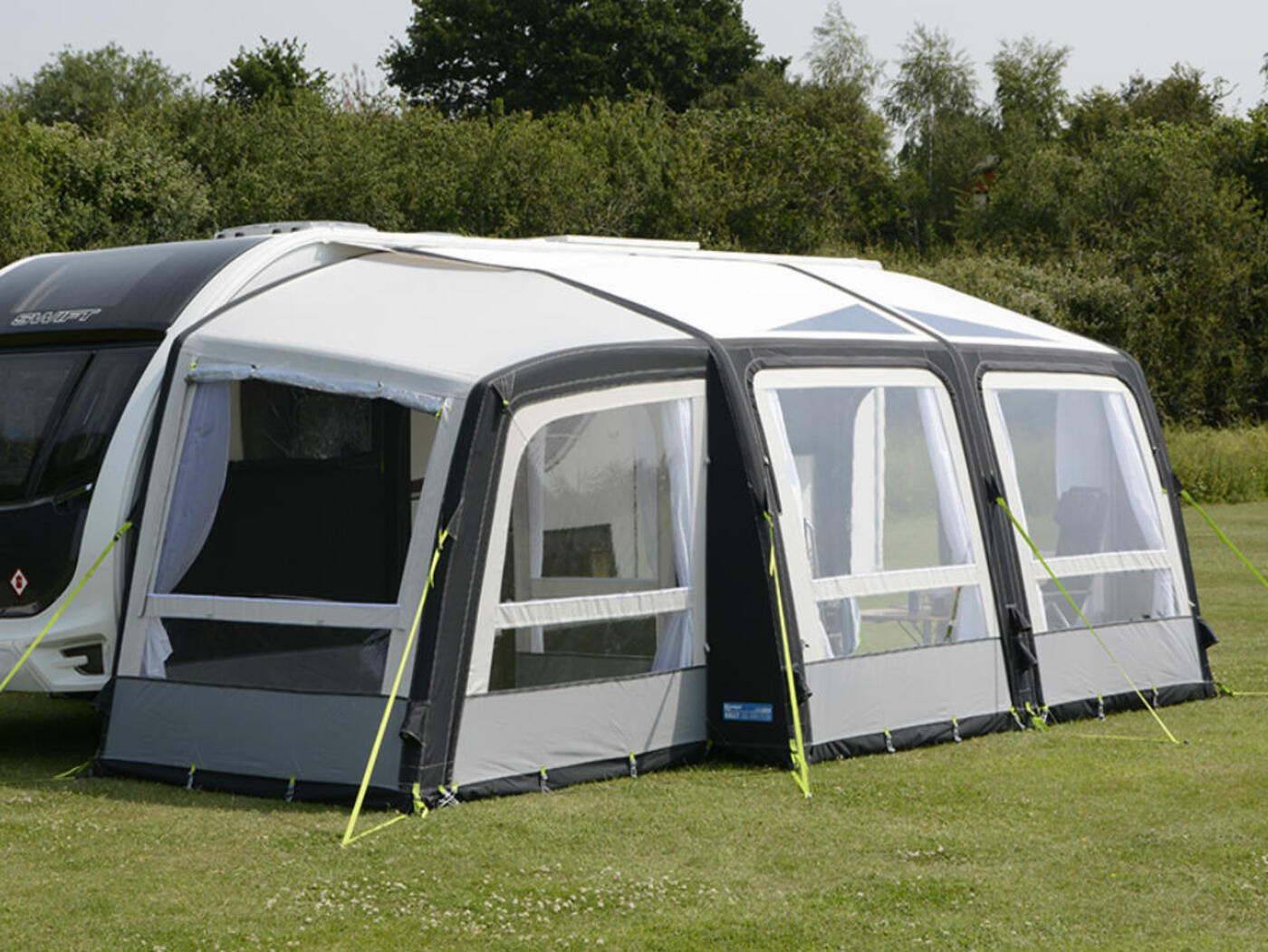 Kampa Rally Air Pro 390 Plus Left Homestead Caravans