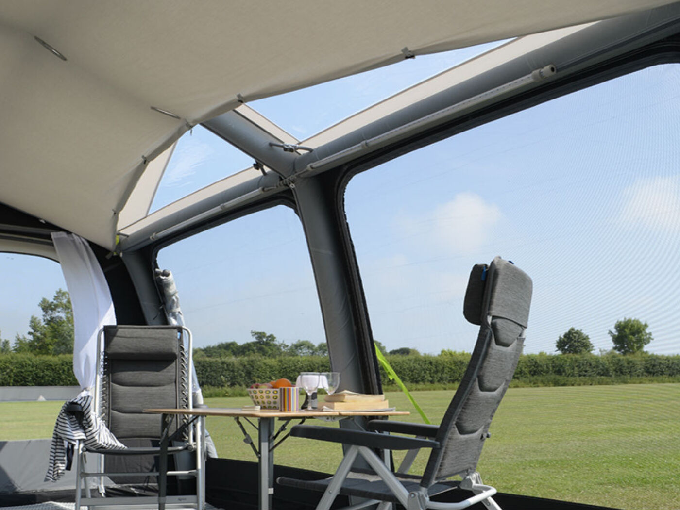 Kampa Ace Air Pro 400 Roof Lining 2018 Homestead Caravans