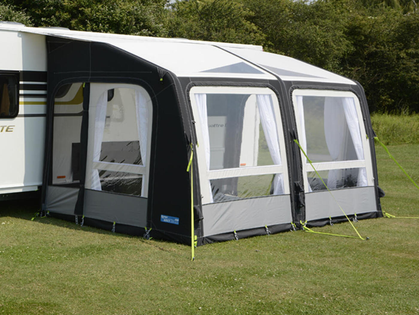 Kampa Rally Air Pro 390 Caravan Awning Homestead Caravans