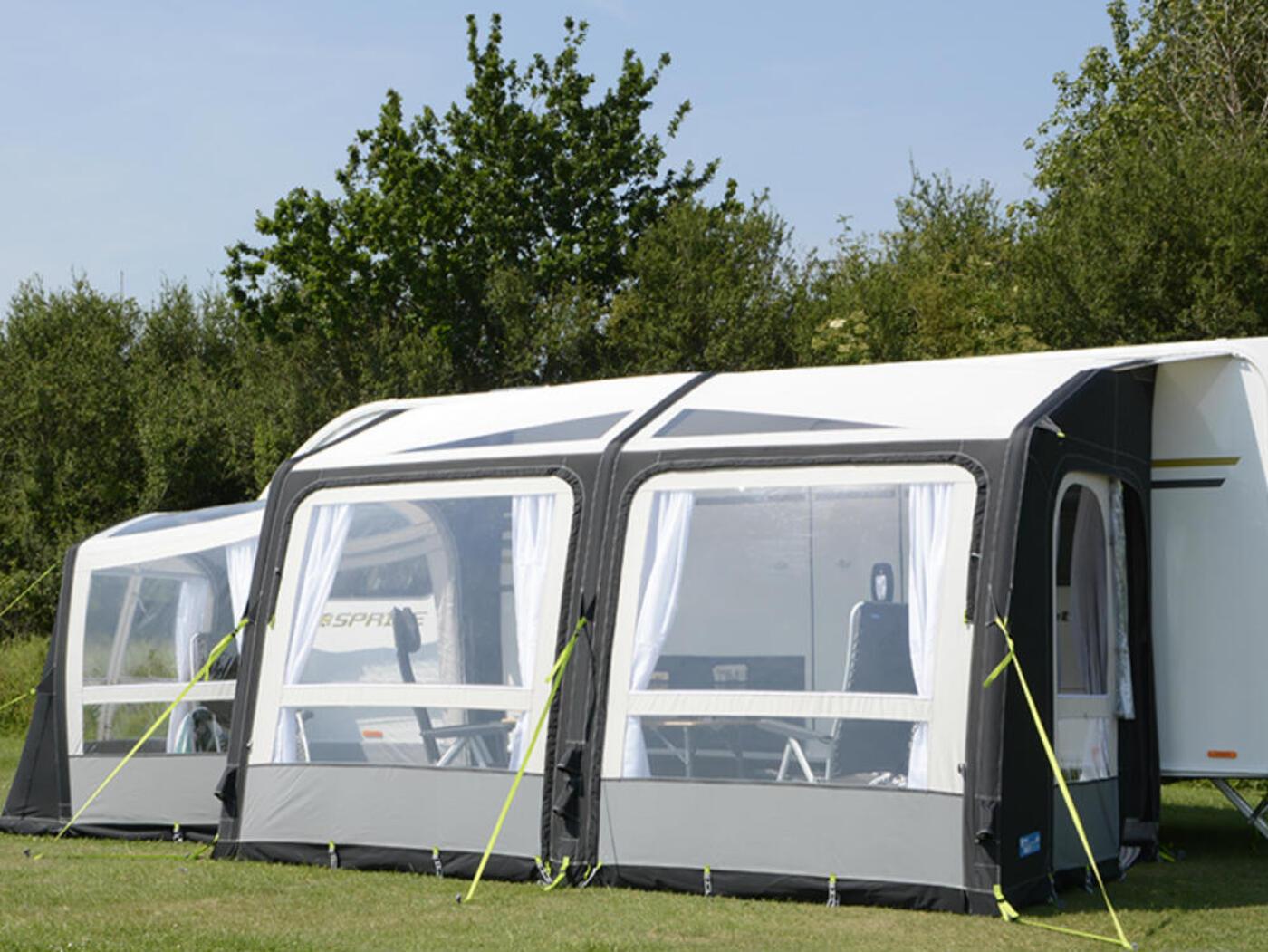 Kampa Rally Air Pro 390 Caravan Awning Homestead Caravans