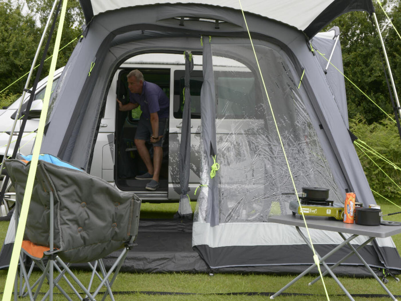 Kampa Travel Pod Motion AIR VW Campervan Awning ...