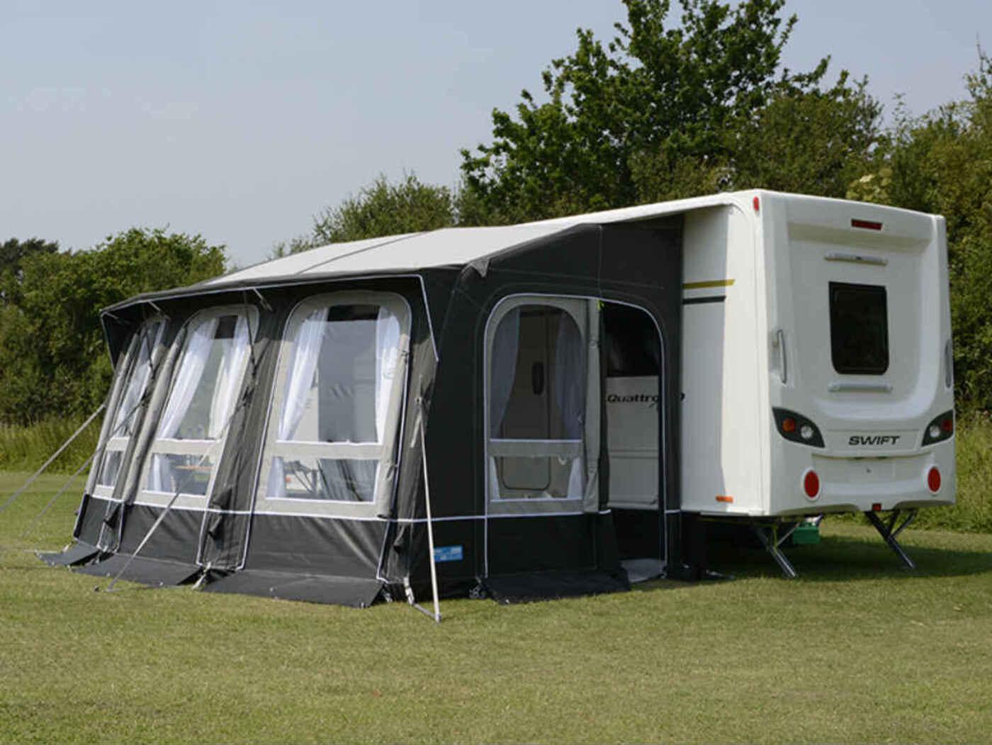 Kampa Ace AIR 400 All Season Caravan Awning