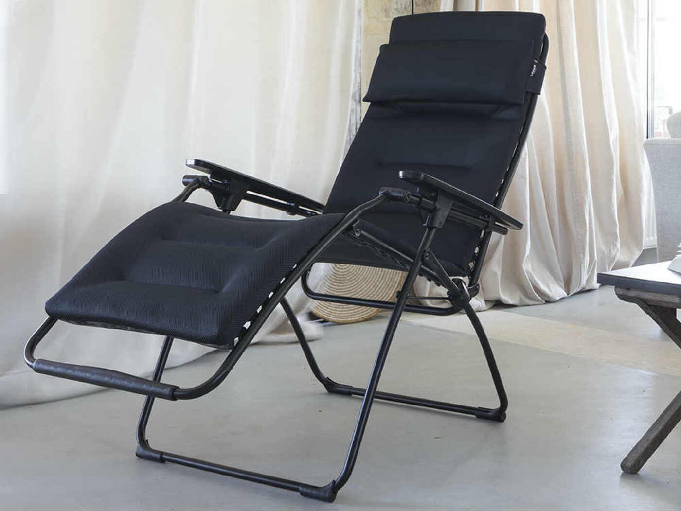 lafuma futura air comfort recliner acier homestead caravans. Black Bedroom Furniture Sets. Home Design Ideas