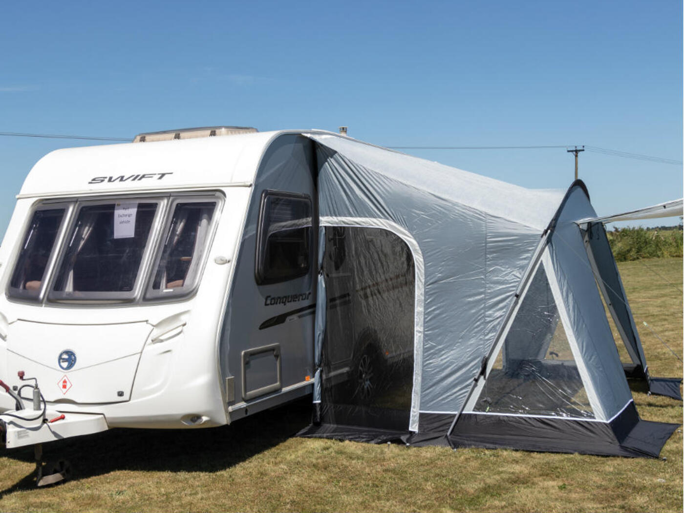 Sunncamp Swift 325 Deluxe Caravan Porch Awning · Homestead ...