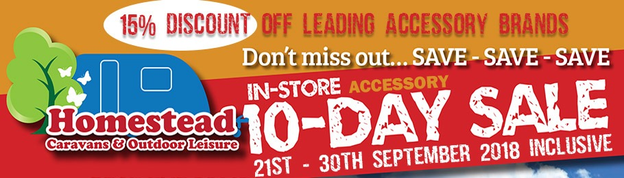 The 10 Day In-Store Accessory Sale 21-30 September