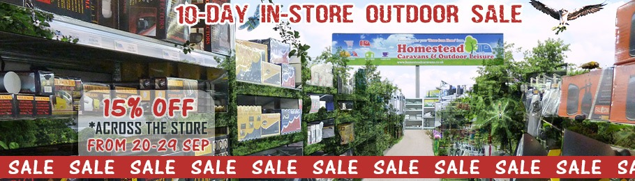 Homestead 10 Day In-store Sale from 20-29 Sep