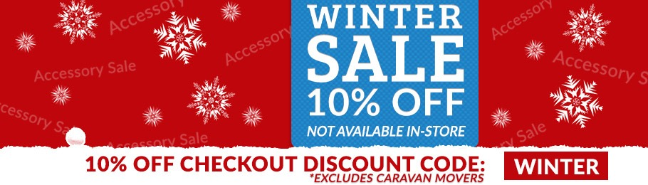 10% Off with voucher code, 'WINTER'