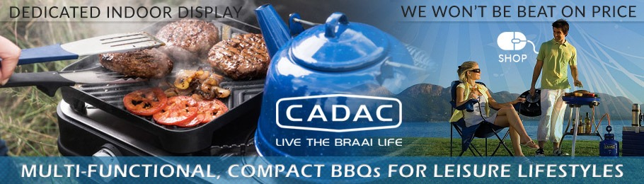 Cadac BBQ lifestyle photo