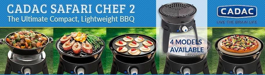 Cadac Safari Chef 2 barbecue range