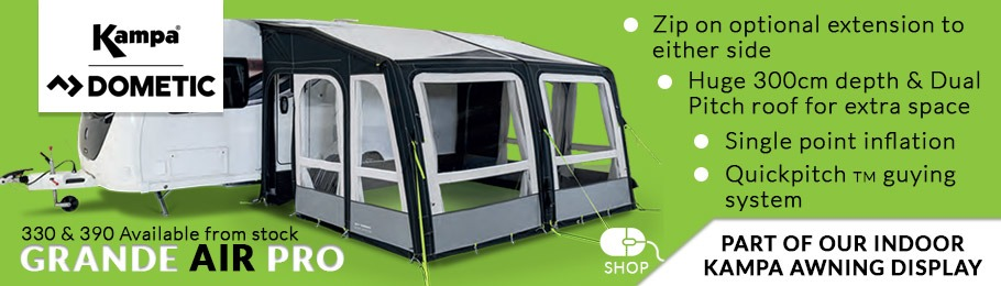 Kampa Dometic Grande AIR Pro Caravan Awning