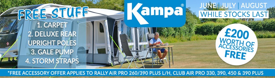 Kampa AIR Awning Free Stuff Deal