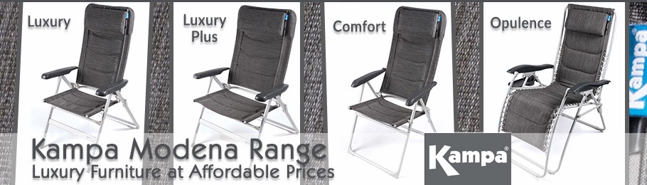 Kampa Dometic Modena Outdoor Chairs