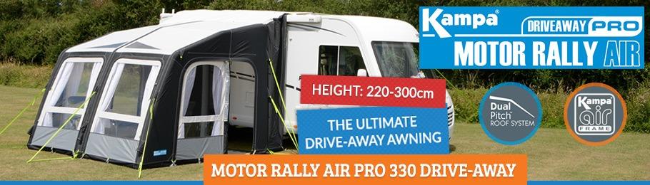 2019 Kampa Motor Rally AIR Pro Driveaway 330