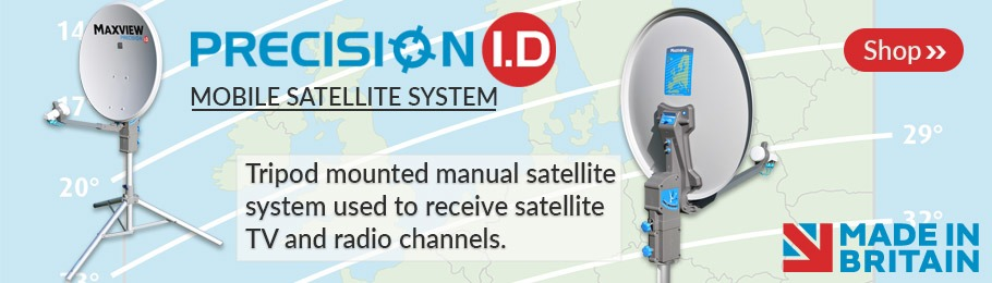 Maxview Precision ID portable satellite systems