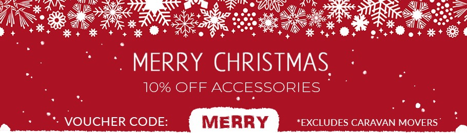 10% Off with voucher code, 'MERRY'