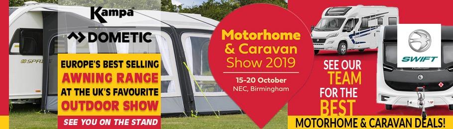 2019 NEC Motorhome & Caravan Show