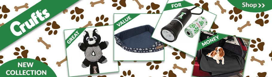 Brand new Crufts pet collection