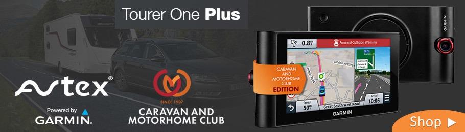 Avtex Tourer One Plus Caravan & Motorhome Club Edition Sat Nav