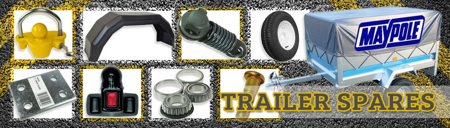 Selection of trailer accessories