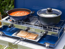 Camping Chef Folding Double Burner & Grill