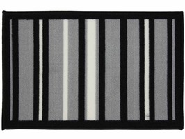 JVL Striped Doormat 40 x 60cm