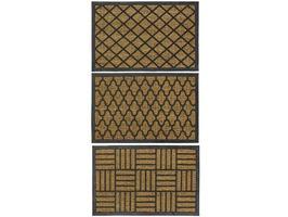 JVL Woven Tuffscrape Doormat 45x75cm