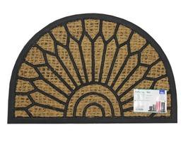 JVL Comfort Halfmoon Coir Doormat 40 x 70cm