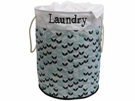 JVL Printed 80 Ltrs Round Laundry Bag