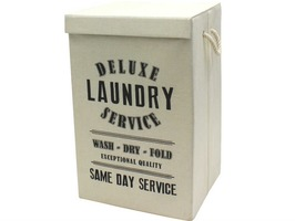 JVL Foldable Laundry Hamper