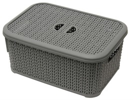 JVL 6Ltr Loop Storage Basket & Lid
