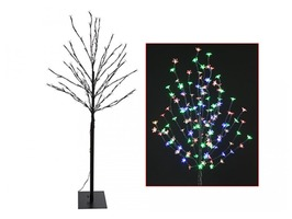 140 Multi-Coloured LED Blossom Tree 150cm Tall