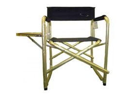 Liberty Leisure Director Chair c/w Side Table Navy