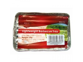 Redwood Lightweight Barbecue Tray - 340 x 230 x 25mm