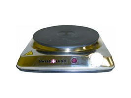 Swiss Luxx Stainless Steel 230v Single Hotplate