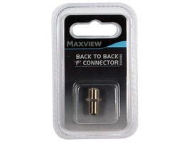 Maxview Back to Back 'F' Connector