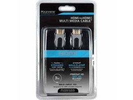 Maxview HDMI to HDMI Multi Media Cable (Platinum)