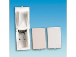 Rectangular Flush Fitting 230v Outlet