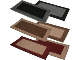 JVL Madras Machine Washable Doormat