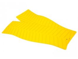 Maypole Yellow Grip Mat Pack 2