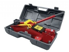 Streetwize 2 Tonne Trolley Jack in Blow Moulded Case
