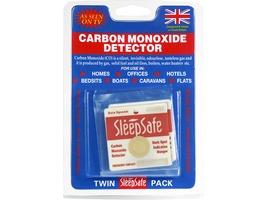 Sleepsafe Carbon Monoxide Detector Twinpack