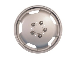 "Milenco Motorhome Wheel Trims 15"" Silver"