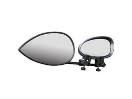 Milenco Aero 3 Flat Towing Mirror - Twin-Pack with Carry-Case